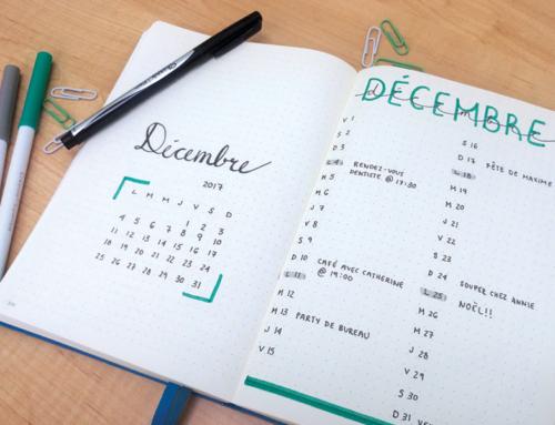 Le bullet journal : un outil pratique pour être mieux organisé!